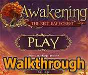 awakening: the redleaf forest walkthrough