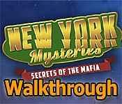 new york mysteries: secrets of the mafia walkthrough