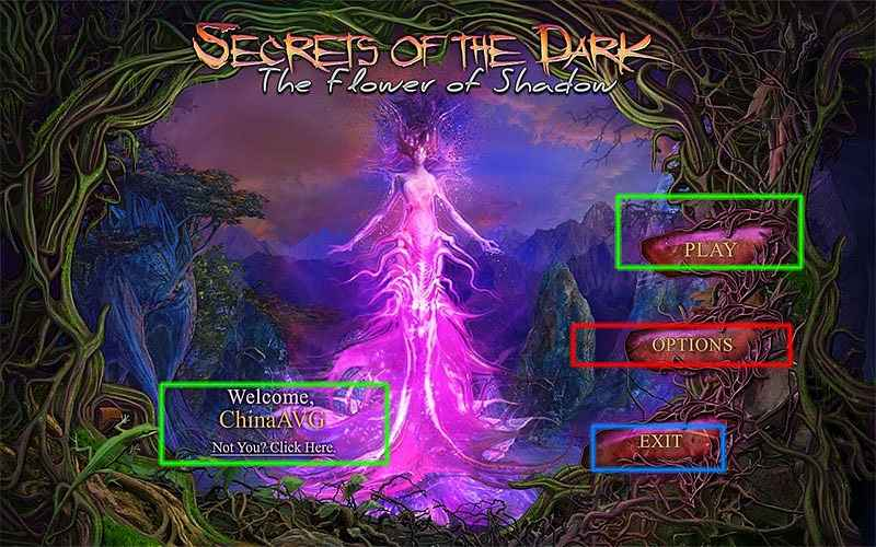 secrets of the dark:the flower of shadow collector's edition walkthrough screenshots 1