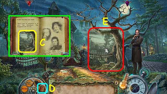 dark tales: edgar allen poe's the fall of the house of usher walkthrough 2 screenshots 2