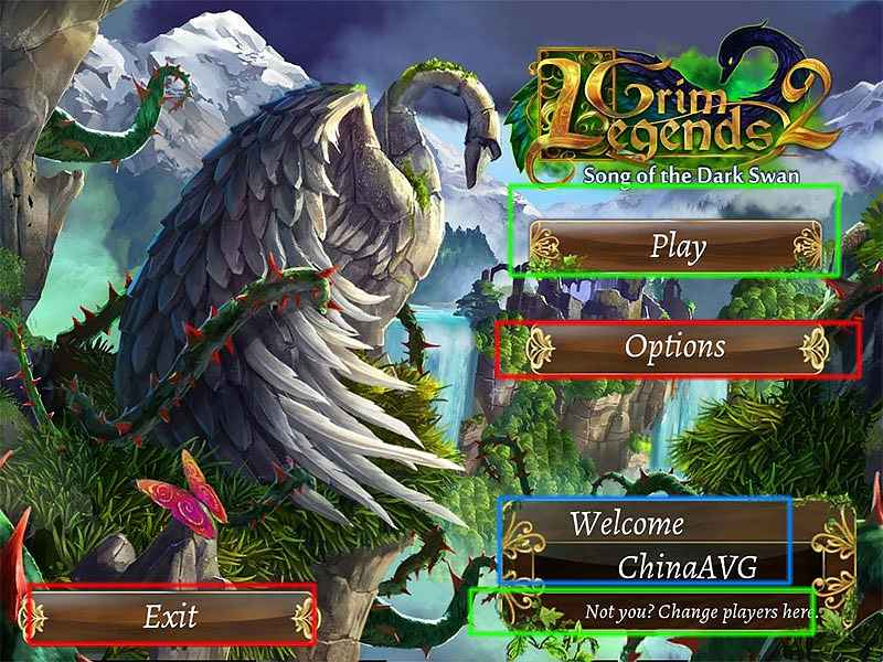 grim legends 2: song of the dark swan walkthrough screenshots 1