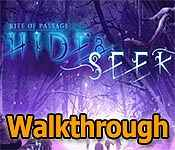 rite of passage: hide and seek collector's edition walkthrough