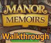 manor memoirs walkthrough