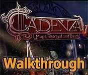 cadenza: music, betrayal and death walkthrough