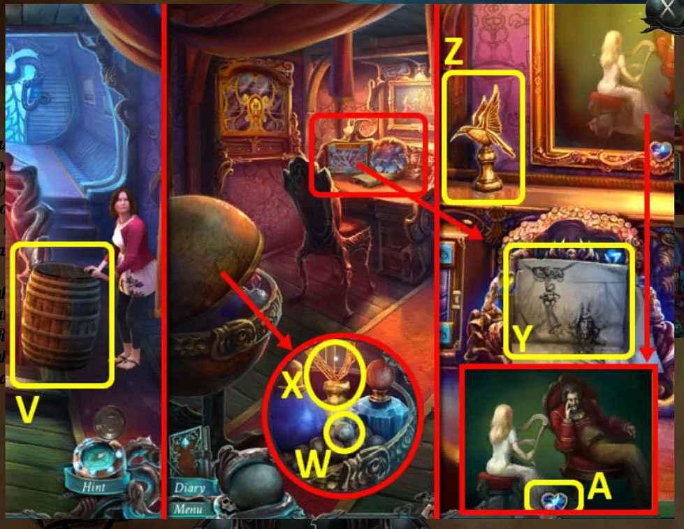 nightmares from the deep: davy jones walkthrough 4 screenshots 1