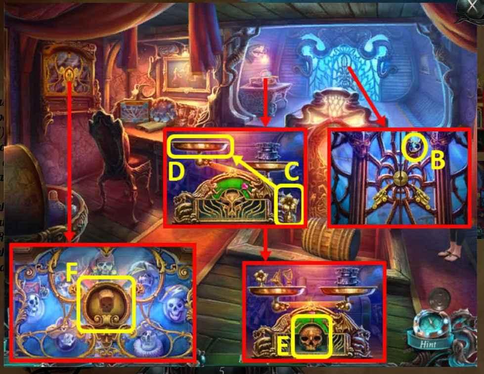 nightmares from the deep: davy jones walkthrough 4 screenshots 2