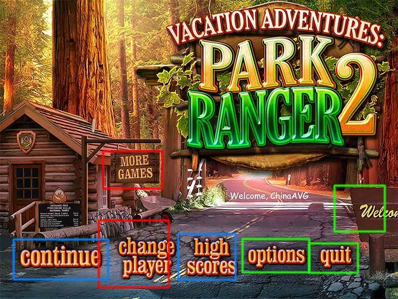 vacation adventures: park ranger 2 collector's edition walkthrough screenshots 1