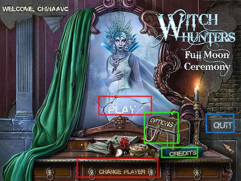 Witch Hunters: Full Moon Ceremony Walkthrough