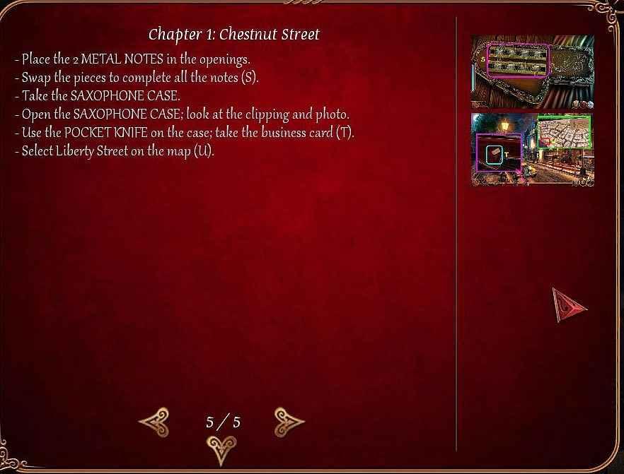 cadenza: music, betrayal and death walkthrough 6 screenshots 3