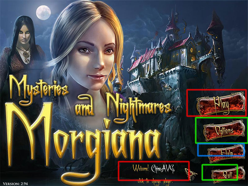 Mysteries and Nightmares: Morgiana Walkthrough