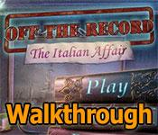 off the record: the italian affair walkthrough 2