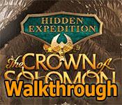 hidden expedition: the crown of solomon collector's edition walkthrough