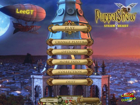 puppetshow: steam heart collector's edition screenshots 1