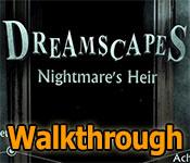dreamscapes: nightmare's heir collector's edition walkthrough