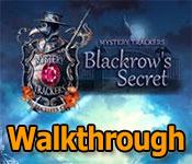mystery trackers: blackrow's secret collector's edition walkthrough