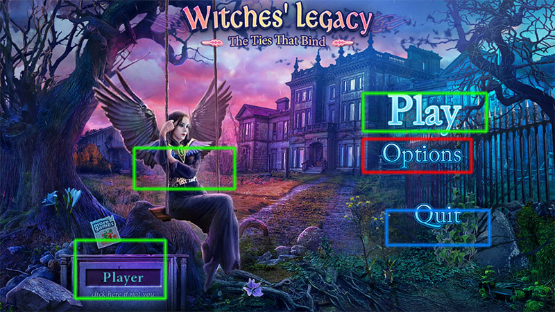 witches' legacy: the ties that bind collector's edition walkthrough screenshots 1
