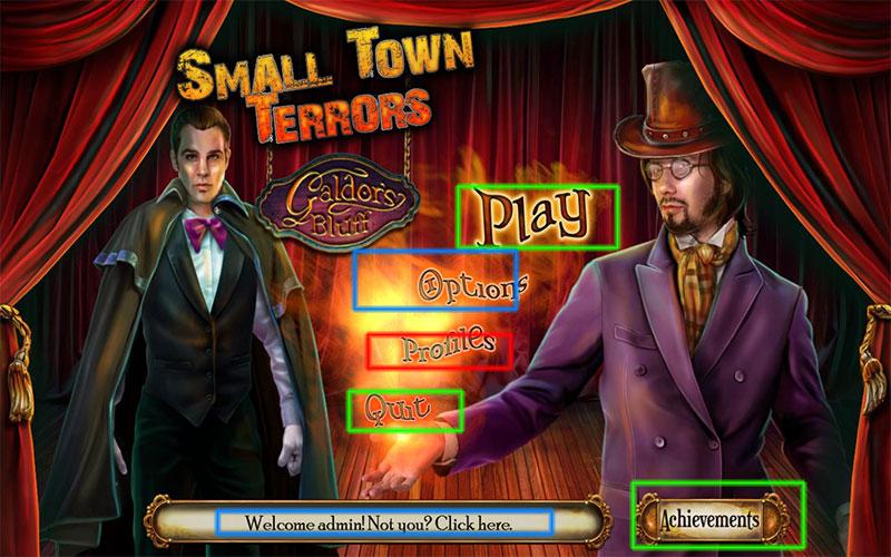 small town terrors: galdor's bluff walkthrough screenshots 1