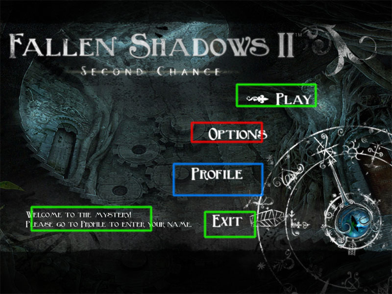 fallen shadows ii: second chance collector's edition walkthrough screenshots 1