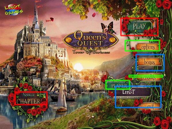 queens quest: tower of darkness collector's edition walkthrough screenshots 1