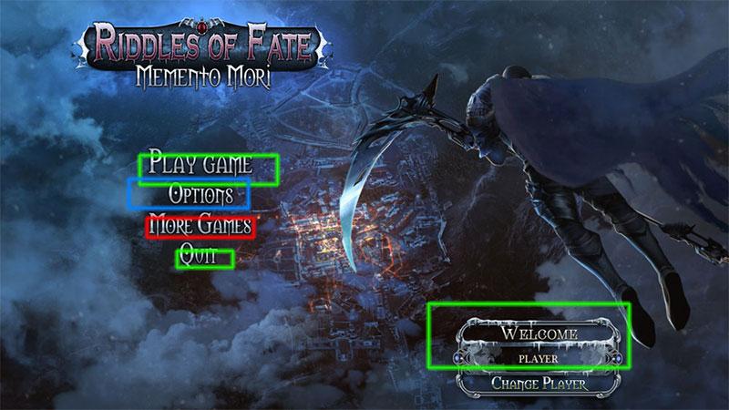 riddles of fate: memento mori walkthrough screenshots 1