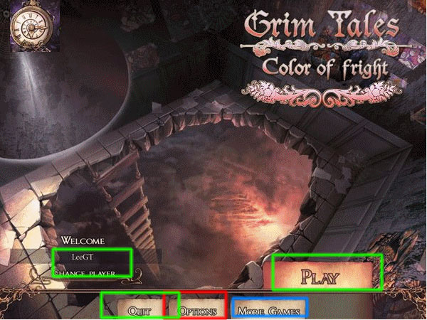 grim tales: colour of fright collector's edition walkthrough screenshots 1