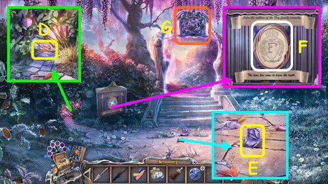 sable maze: forbidden garden walkthrough 4 screenshots 2