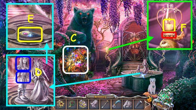 sable maze: forbidden garden walkthrough 9 screenshots 1