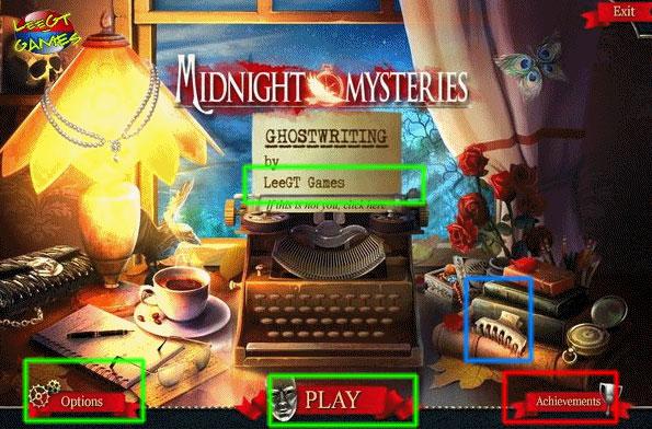 midnight mysteries: ghostwriting collector's edition walkthrough screenshots 1