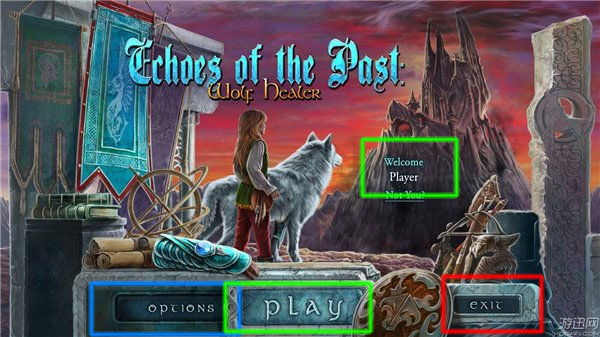 echoes of the past: wolf healer collector's edition walkthrough screenshots 1