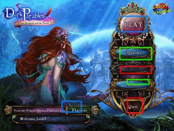 dark parables: the little mermaid and the purple tide walkthrough screenshots 1