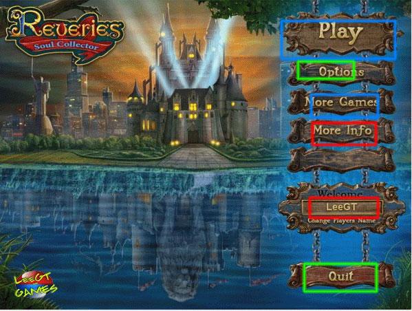 reveries: soul collector collector's edition walkthrough screenshots 1