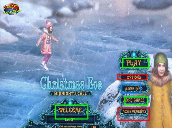 christmas eve: midnight's call collector's edition walkthrough screenshots 1