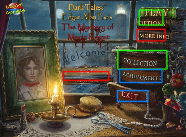 dark tales: edgar allan poe's the mystery of marie roget collector's edition walkthrough screenshots 1