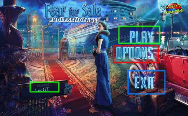 fear for sale: endless voyage collector's edition walkthrough screenshots 1