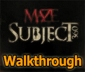 maze: subject 360 collector's edition walkthrough