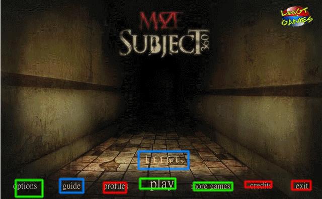 maze: subject 360 walkthrough screenshots 1