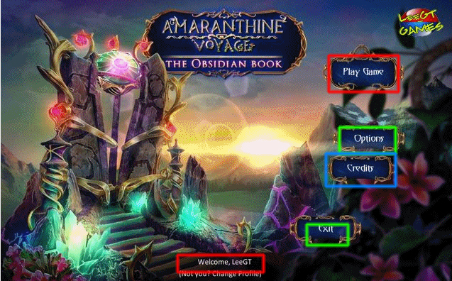amaranthine voyage: the obsidian book collector's edition walkthrough screenshots 1