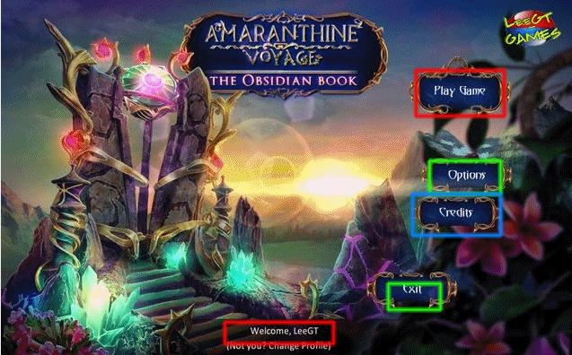 amaranthine voyage: the obsidian book walkthrough