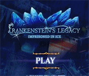 frankenstein's legacy: imprisoned in ice