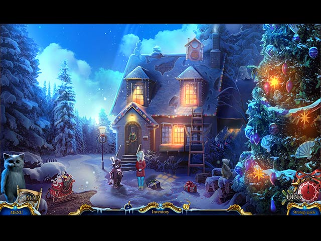 christmas stories: puss in boots collector's edition screenshots 1