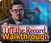 off the record: liberty stone walkthrough