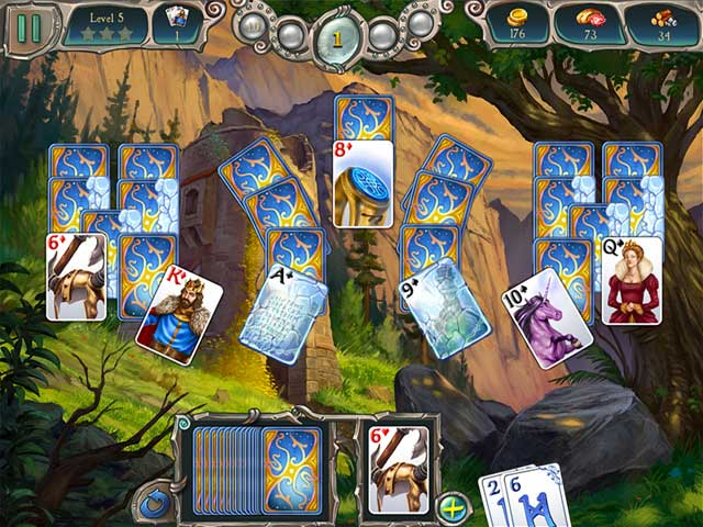 avalon legends solitaire 2 screenshots 1