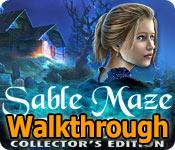 sable maze: twelve fears collector's edition walkthrough