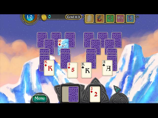 nordic storm solitaire screenshots 2