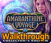 amaranthine voyage: the orb of purity walkthrough