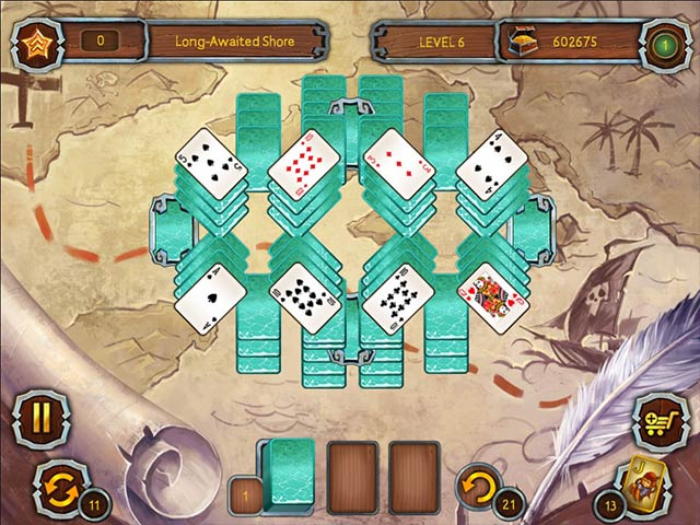 pirate's solitaire 3 screenshots 1