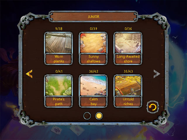pirate's solitaire 3 screenshots 2