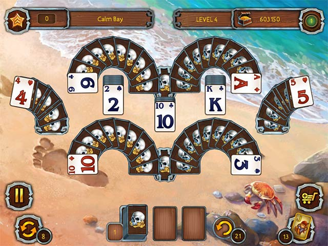 pirate's solitaire 3 screenshots 3