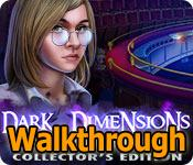 dark dimensions: shadow pirouette collector's edition walkthrough