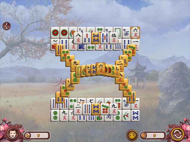 sakura day mahjong screenshots 1